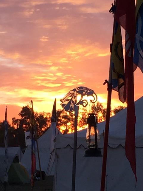 Sunset, Saturday of Estrella 34