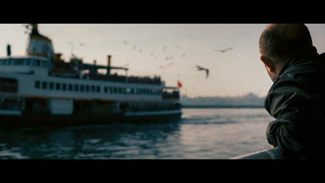 Ferry to Besiktas, Istanbul