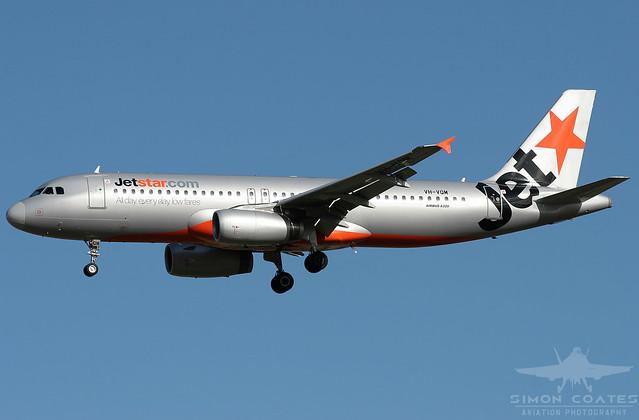 VH-VQM A320 JETSTAR