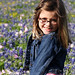 Riley in the Bluebonnets