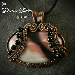 Peach Divide Pendant