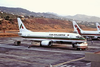 CS-TIF B737 Air Atlantis Funchal 27-08-90