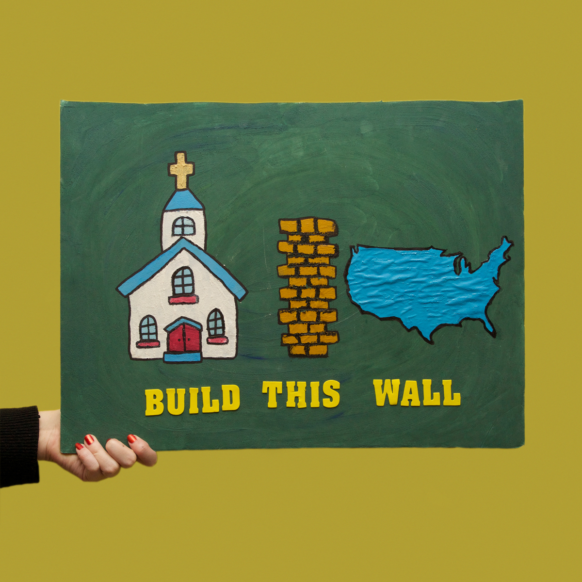 45 Protest Signs_Brandon and Olivia Locher_44_BuildThisWall