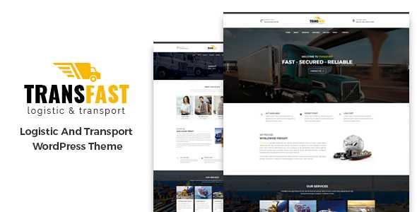 Transfast WordPress Theme free download