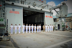 FHQ and GLC officers awaits EU ambasador to salute them