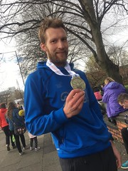 Manchester Marathon pleased to have finished Image