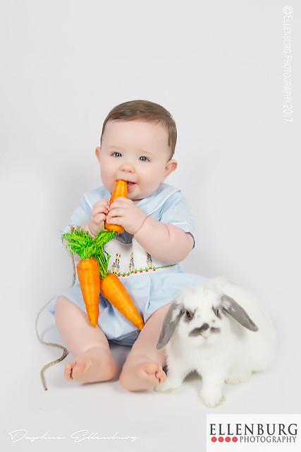 Boy with Bunny