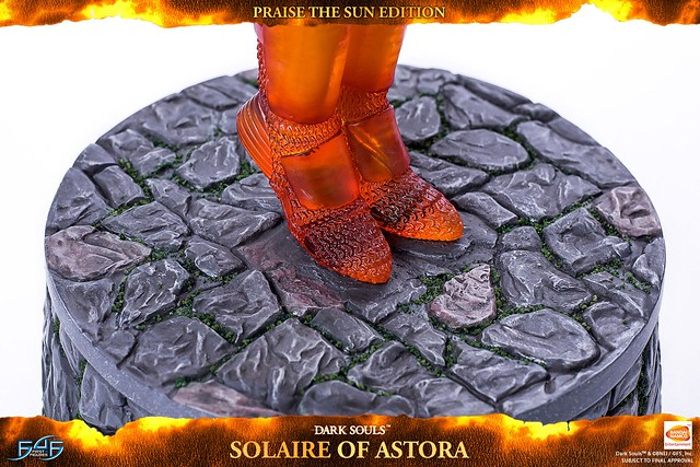 太陽萬歲(Praise the Sun)!First 4 Figures《黑暗靈魂》「太陽戰士」亞斯特拉的索拉爾  SOLAIRE OF ASTORA 普通版/豪華版/太陽萬歲版