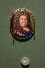 Miniature painting of an aristocrat