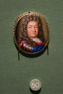 Miniature painting of an aristocrat