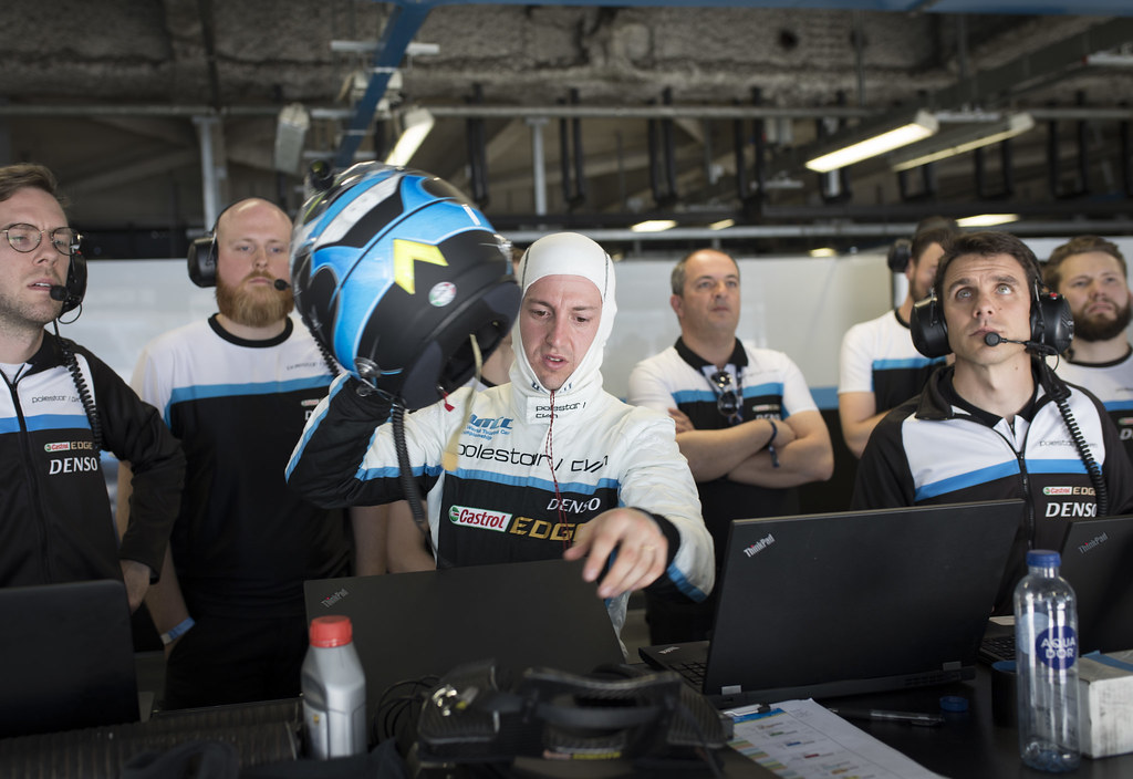 GIROLAMI Nestor (arg) Volvo S60 Polestar team Polestar Cyan Racing ambiance portrait during the 2017 FIA WTCC World Touring Car Race of Italy at Monza, from April 28 to 30  - Photo Gregory Lenormand / DPPI
