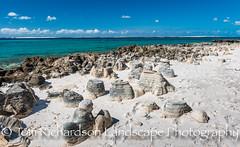 Rock Formation Santa Carolina Island Mozambique