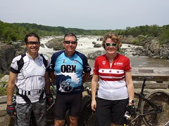 2017 Bike 180: Day 62 - Steamy Day at Great Falls Park