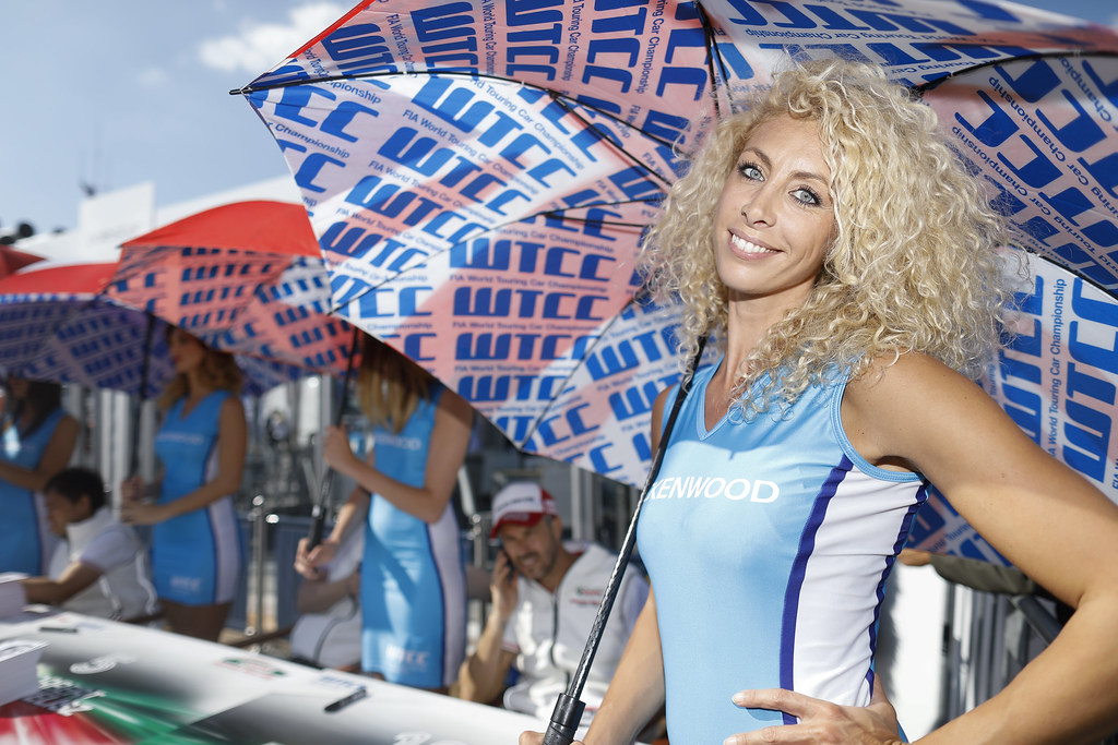 girl ambiance during the 2017 FIA WTCC World Touring Car Race of Italy at Monza, from April 28 to 30  - Photo Francois Flamand / DPPI