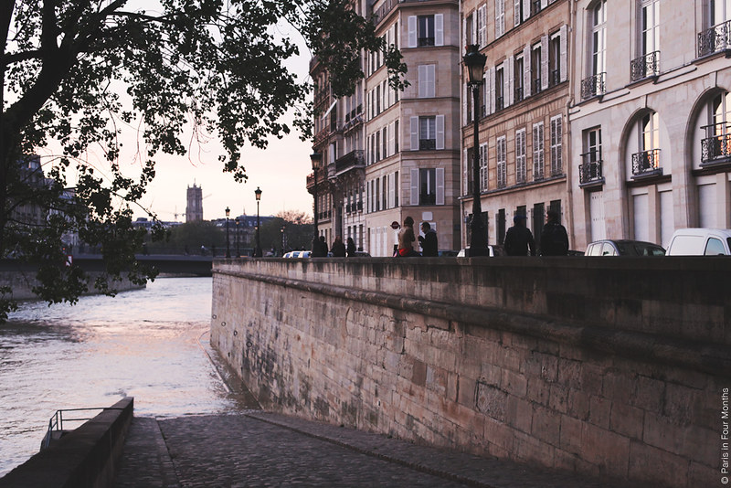 Evening on Île Saint Louis