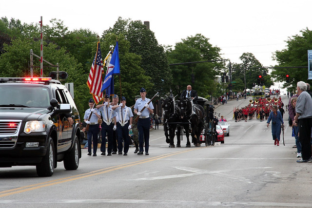 Memorial Day - Parade through Kent