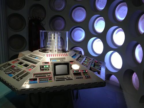 1980s TARDIS Console