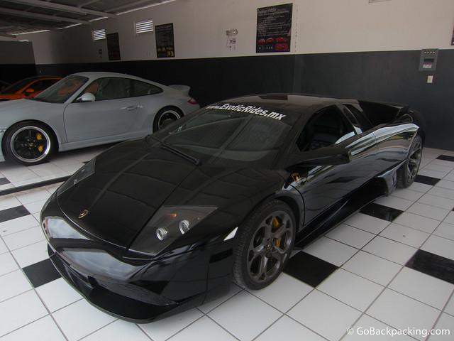 The 563-horsepower Lamborghini Murcielago LP640