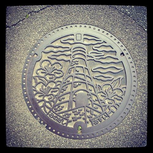 小野田の蓋。いろんな蓋があるなぁ。 #manhole #manholeunited