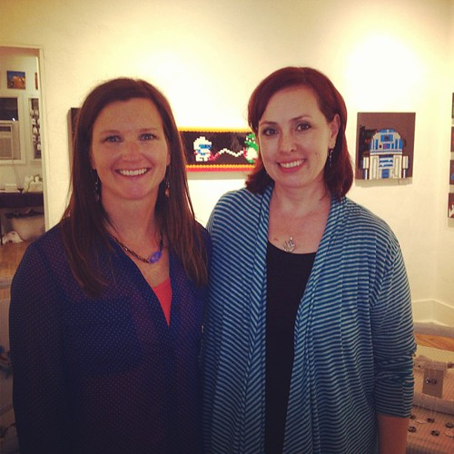 Awesome opening night with my fellow artist Kym Bloom @Zip37gallery!