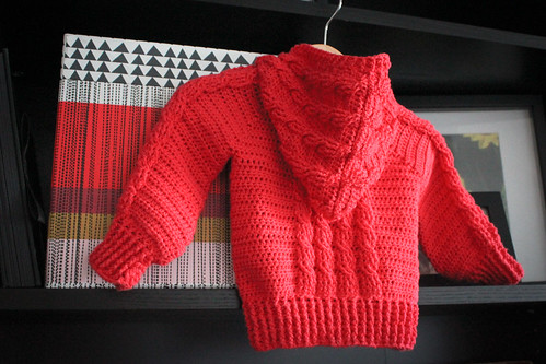 my first sweater.