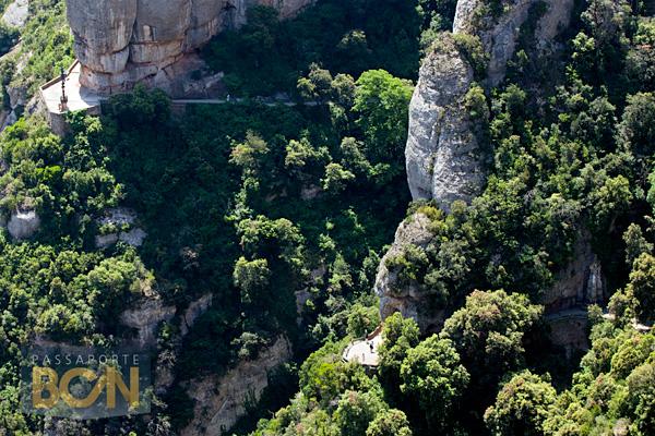 funicular Santa Cova, Montserrat