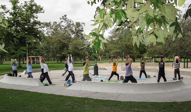 2013-06-10 Yoga Mile Square Park-2103