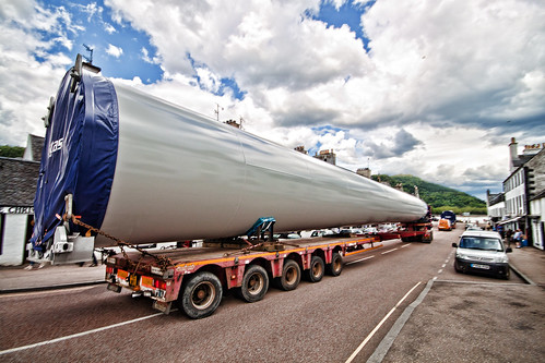 Wind Turbine in transit through Inveraray #1