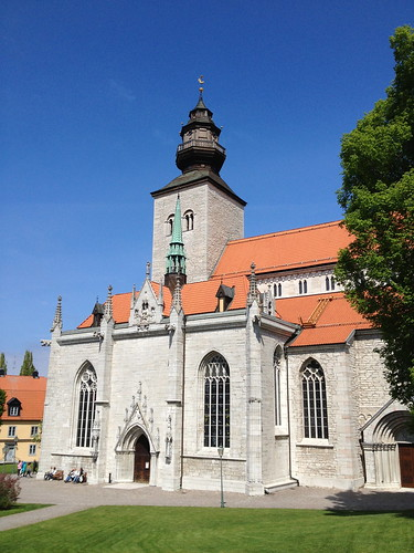 The Cathedral in Visby, Gotland, Sweden