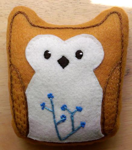 Doodle Stitch Owl
