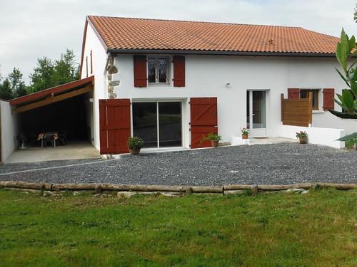BETTIRITEA, Gîte pour 4 personnes avec 2 chambres à BRISCOUS,  Coeur Pays Basque