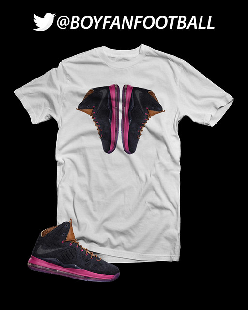 Nike Lebron 10 39 Denim 39 Custom T Shirt Flickr Photo