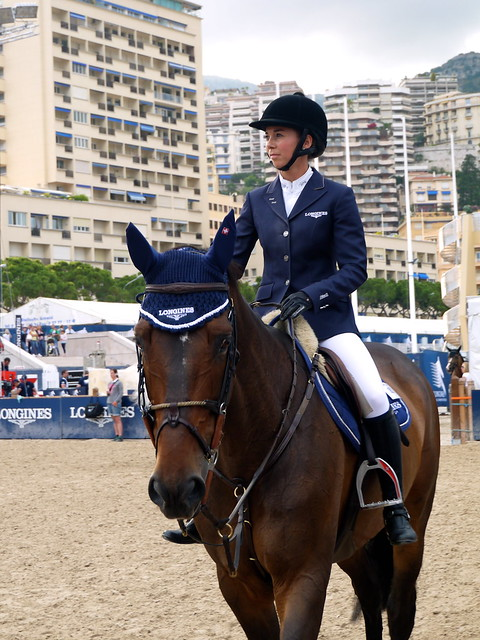 Jane Richards Longines Global Champions Tour 2013 Monaco