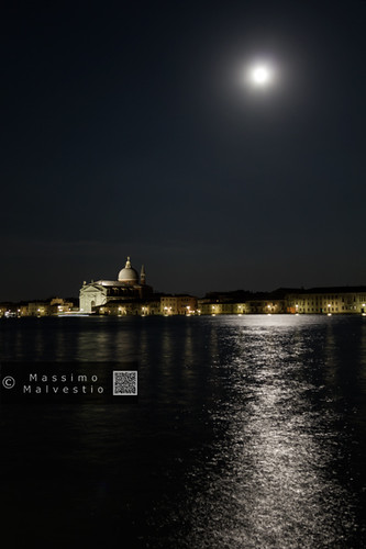 Super moon over the laguna