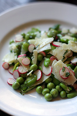 radish and pea salad