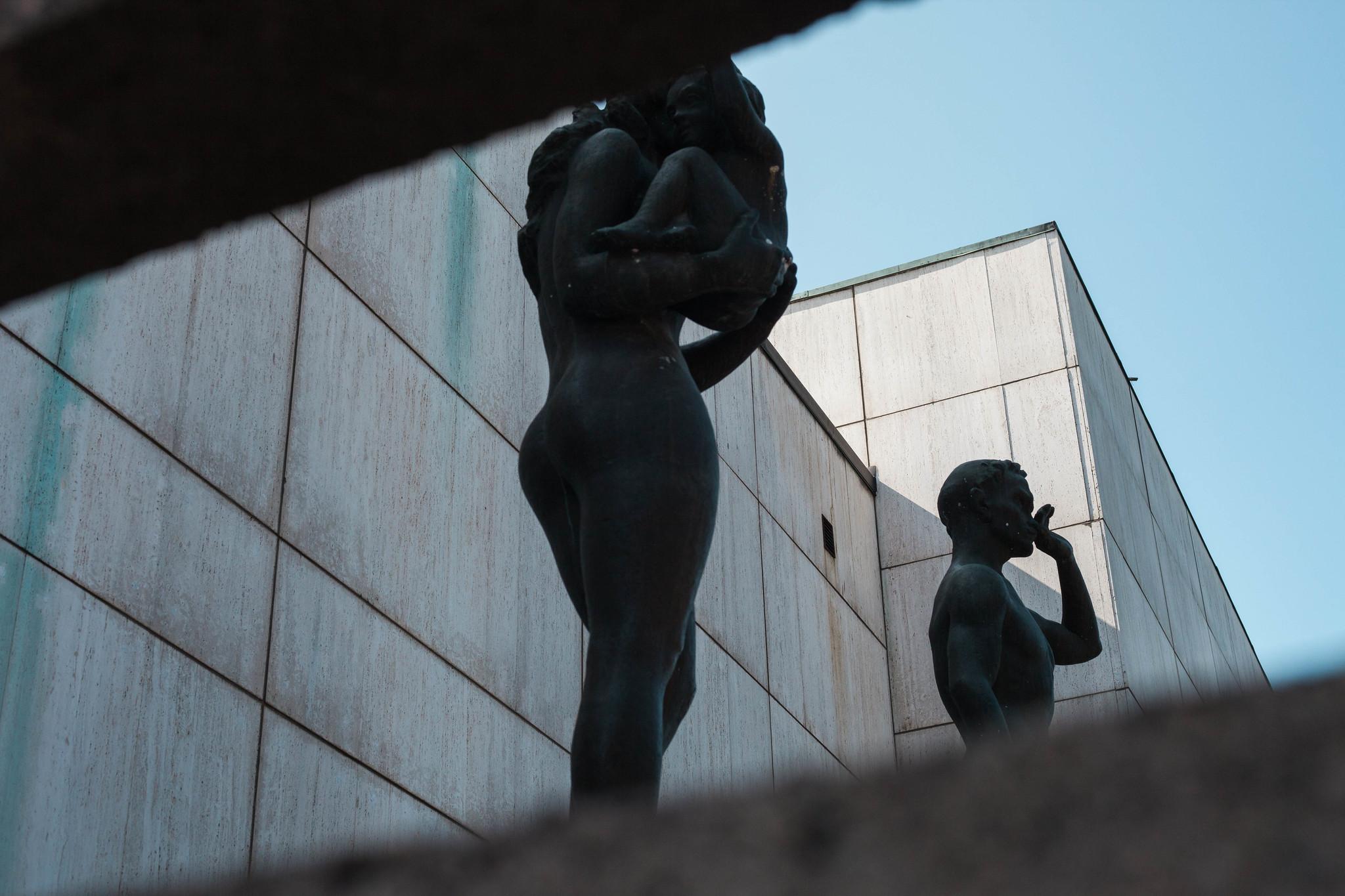 W A Sculpture
