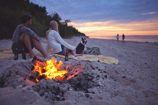 'Bonfire', United States, New York, The Hamptons - 無料写真検索fotoq