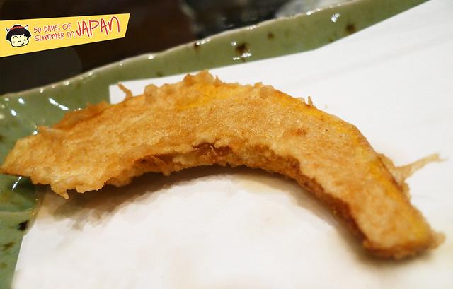 Tempura Hisago - pumpkin tempura