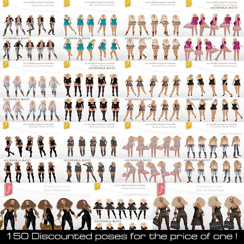 AUSHKA&CO-150 Discounted Poses
