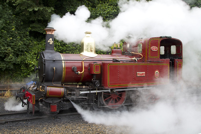 Isle of Man Railway No.4 Steam Engine