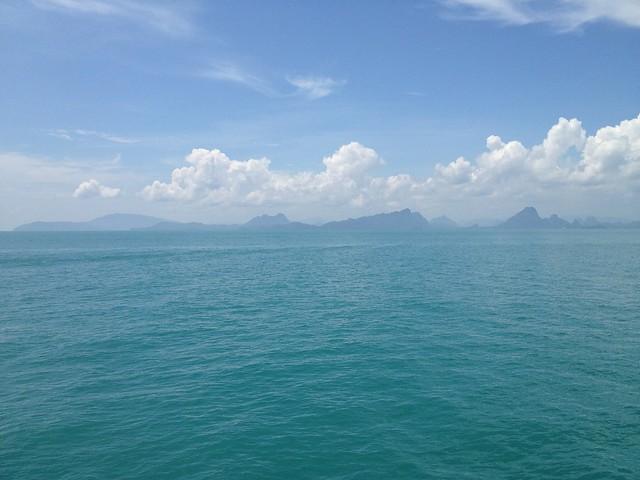 Опять море