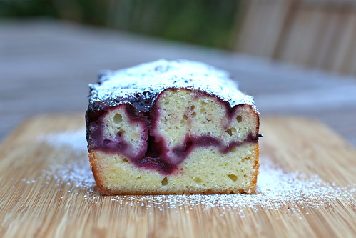 Blackberry-Swirl Pound Cake