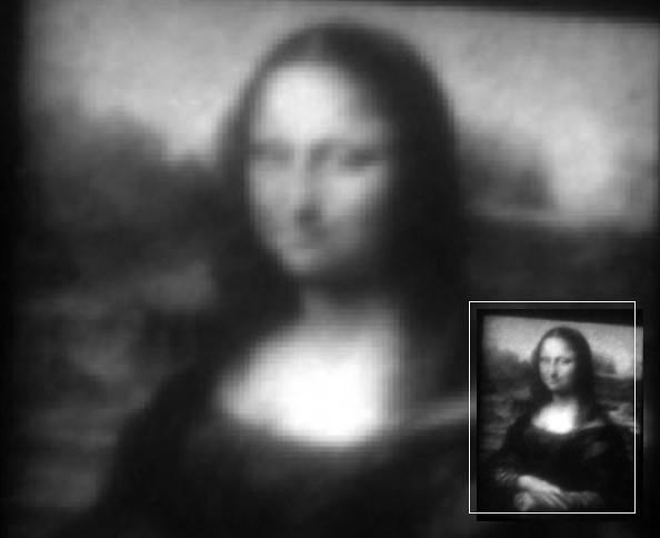 """人发丝的1/3宽度 世界最小的""""蒙娜丽莎""""画像-玩意儿"""