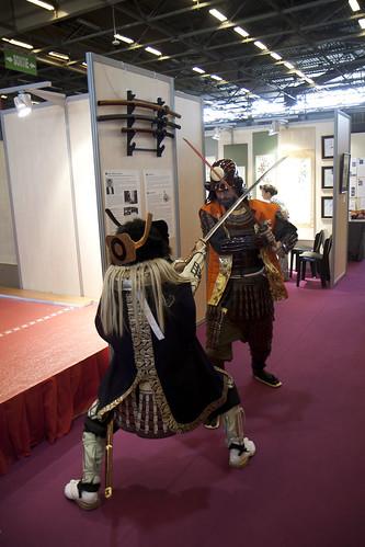 Samuraï à la Japan Expo 2013