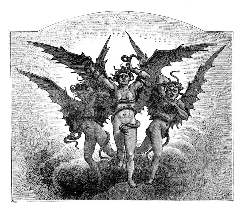 Jean-Edouard Dargent - Illustrations from Dante's Divine Comedy 1870 (2)