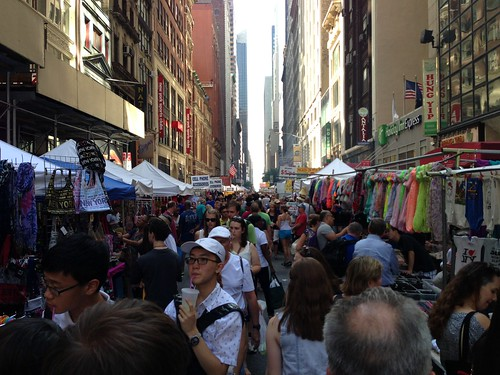 Street fair, Midtown