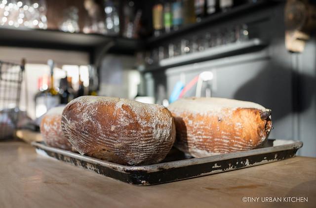 Date, lemon, thyme bread