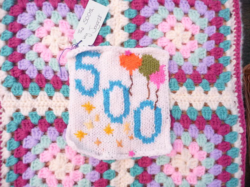 joyce 28 Our Centre Square for the 500th SIBOL! Thank you! x