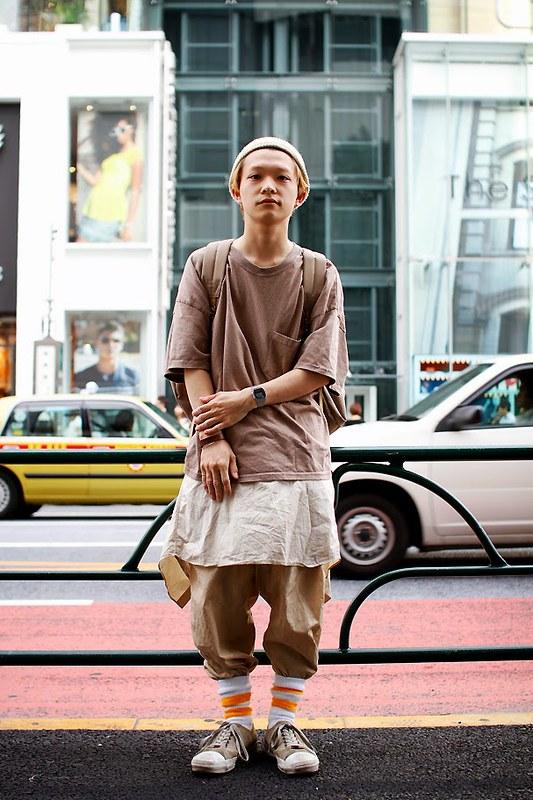 Drop Tokyo Street Style - Area- Harajuku,Tokyo | 原宿,東京 Name- Shunsuke Kuwamuro | 桑室俊佑
