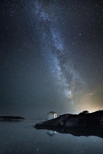 Late summer night by Torehegg